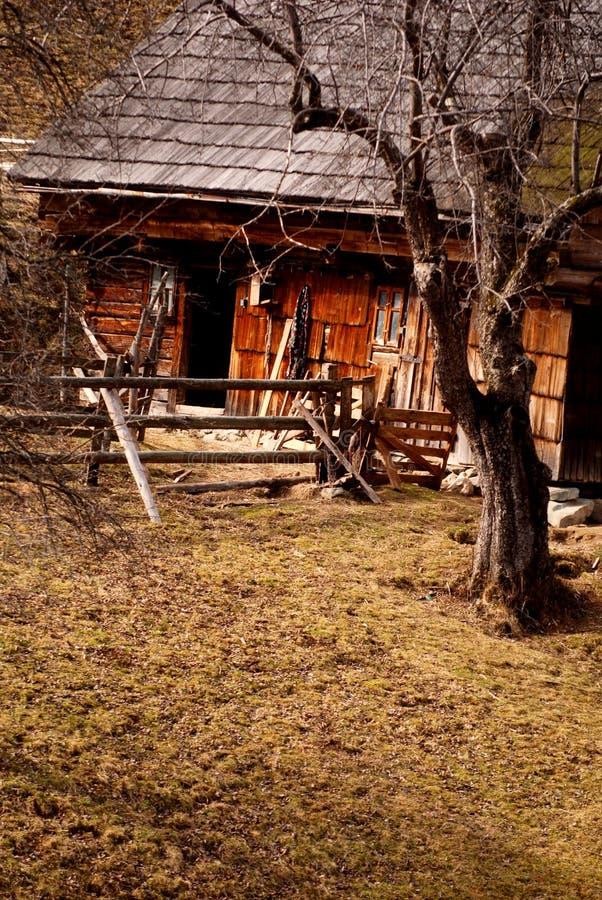 Altes landwirtschaftliches Gebäude stockfotos