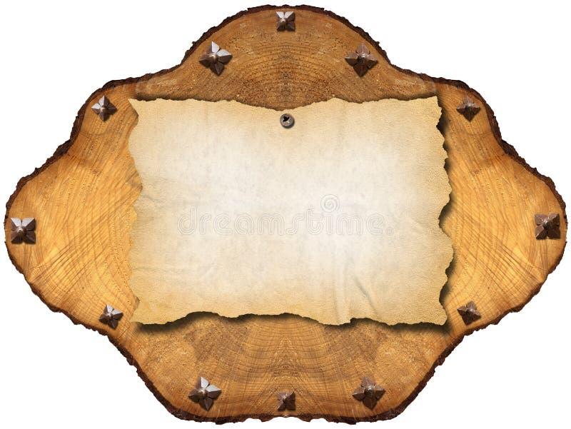 Download Altes Leeres Papier Im Kapitel Des Baums Stockfoto - Bild von notizbuch, memorize: 26353026