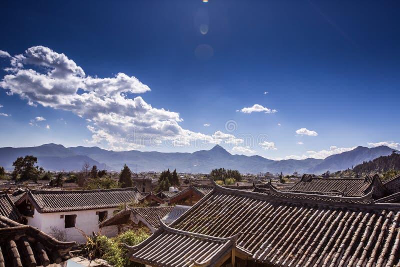 Altes Lijiang lizenzfreies stockfoto