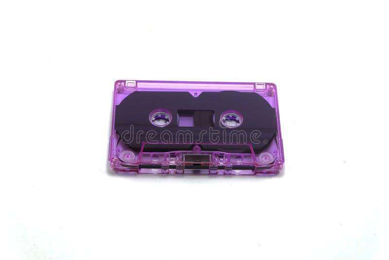 Altes Magnetband für Tonaufzeichnungen der Kasette stockbild