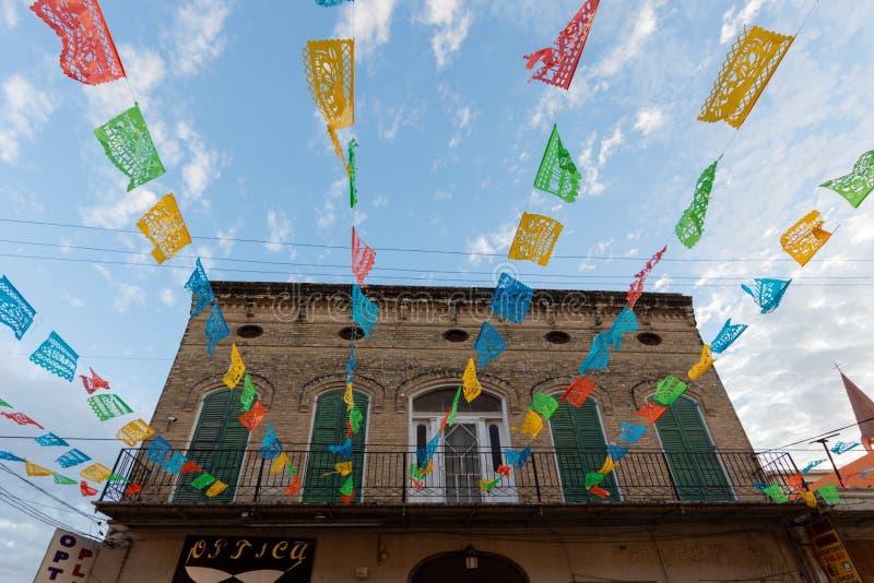 Altes mexikanisches Gebäude lizenzfreie stockfotografie