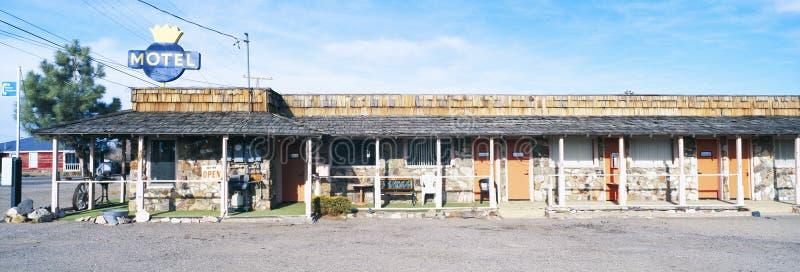 Altes Motel in Tonopah lizenzfreies stockfoto