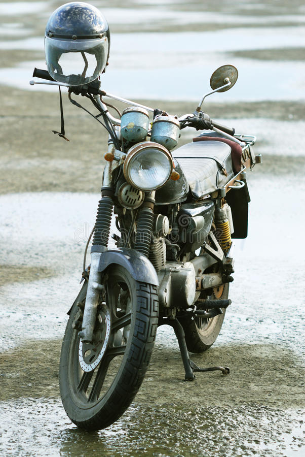 Altes Motorrad stockfotografie