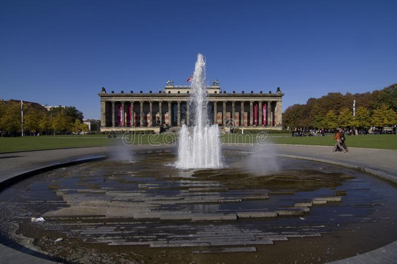 Altes Museum stockfoto