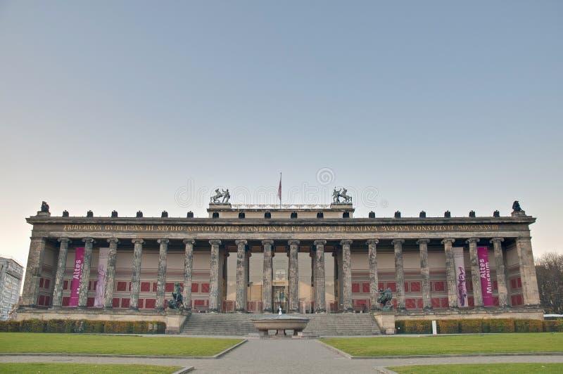 Altes Museum (altes Museum) in Berlin, Deutschland stockfoto