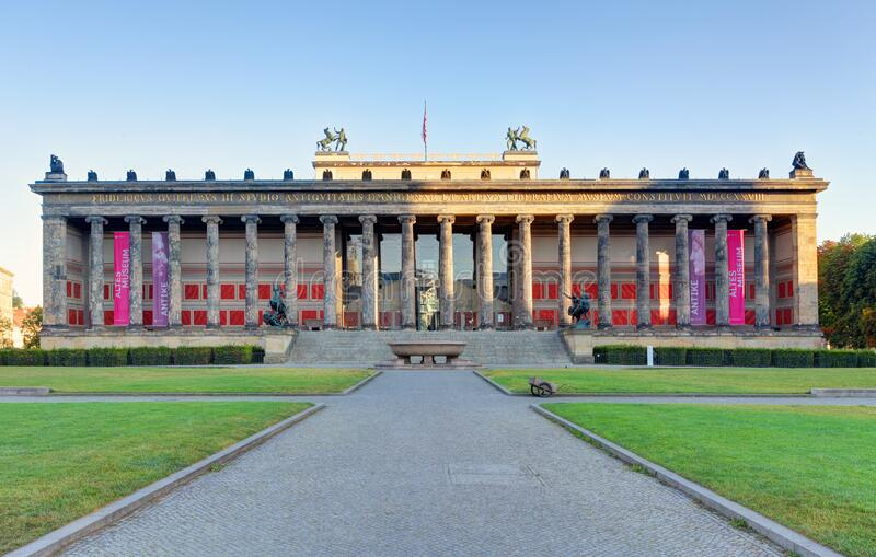 Altes museum, Berlin royalty free stock images