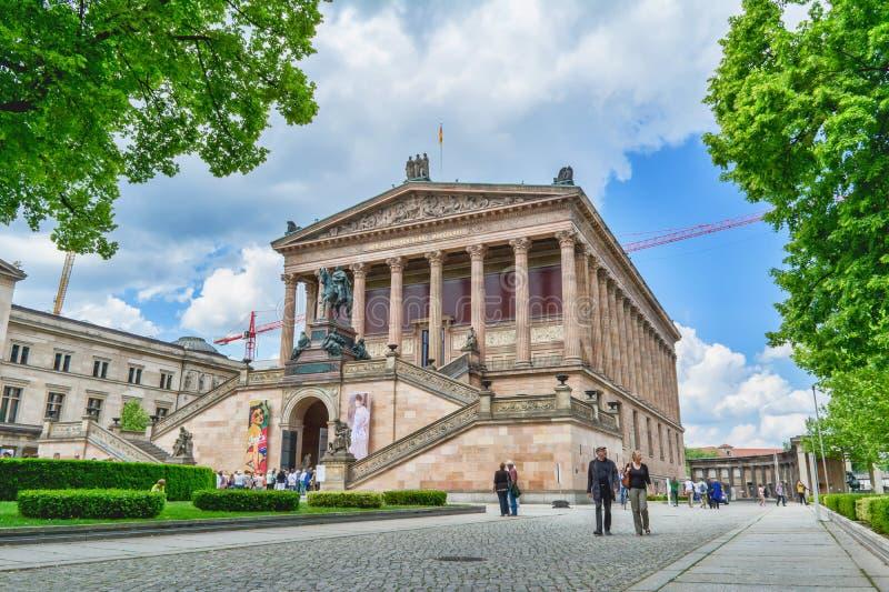 Altes Museum Deutsches altes Museum in Berlin am sonnigen Tag stockfoto