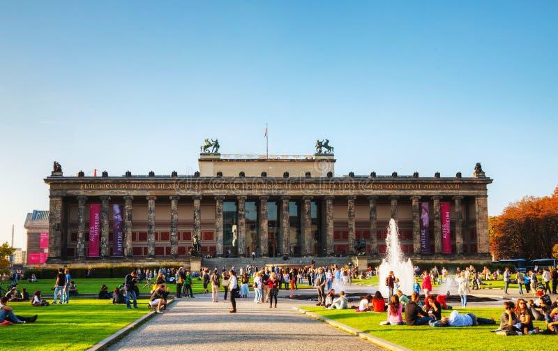 Altes-Museumsgebäude in Berlin, Deutschland stockfoto