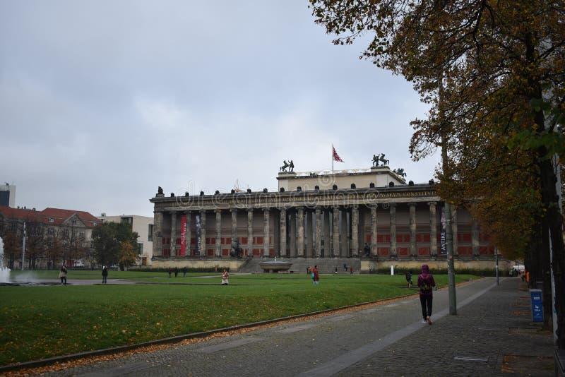 Altes Musuem in Berlin lizenzfreie stockbilder
