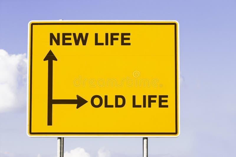 Altes neues Leben lizenzfreies stockfoto