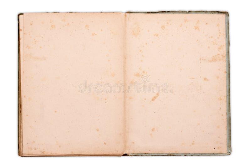 Altes Notizbuch stockbilder