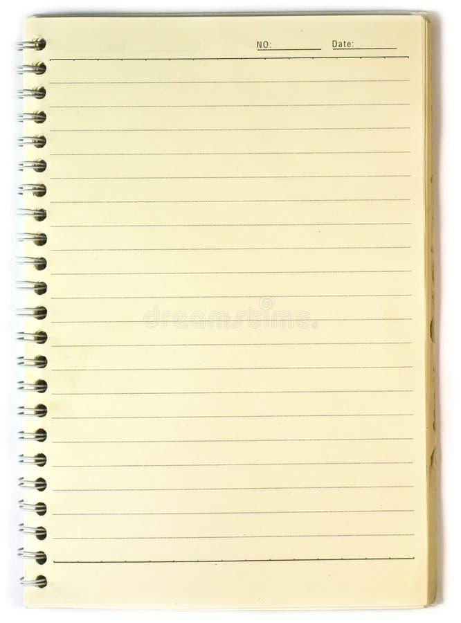 Altes Notizbuch Stockfotografie