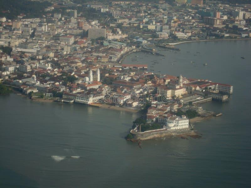 Altes Panama City stockbild