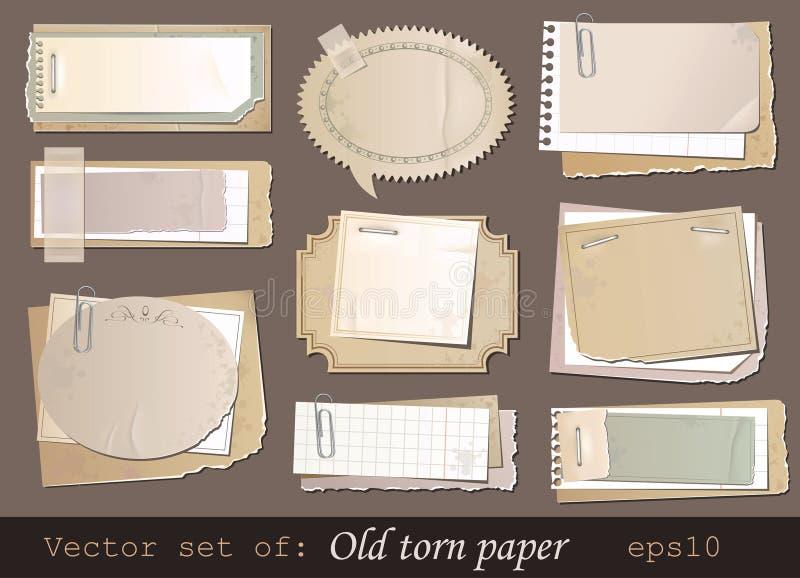 Altes Papier lizenzfreie abbildung