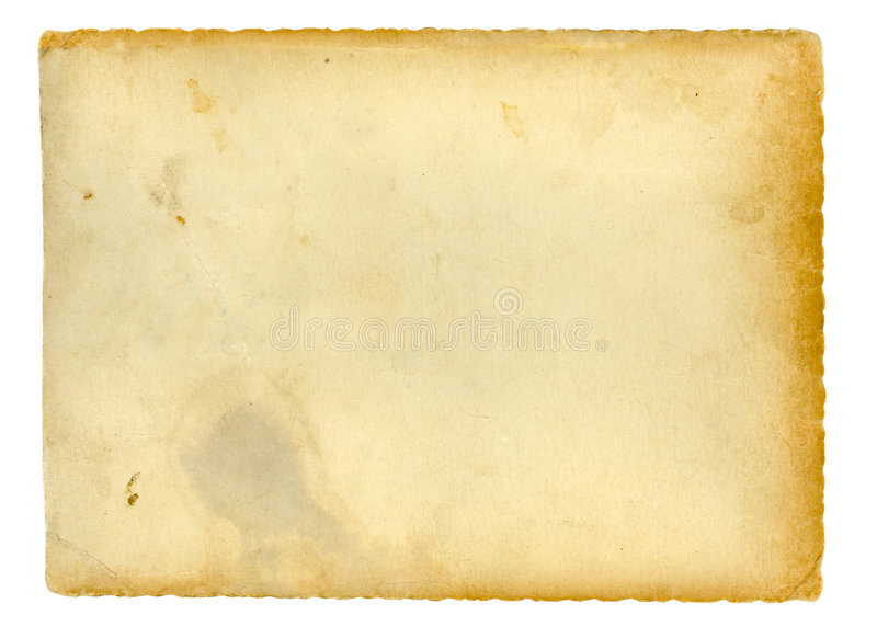 Download Altes Papier stock abbildung. Illustration von leer, leerzeichen - 6269806