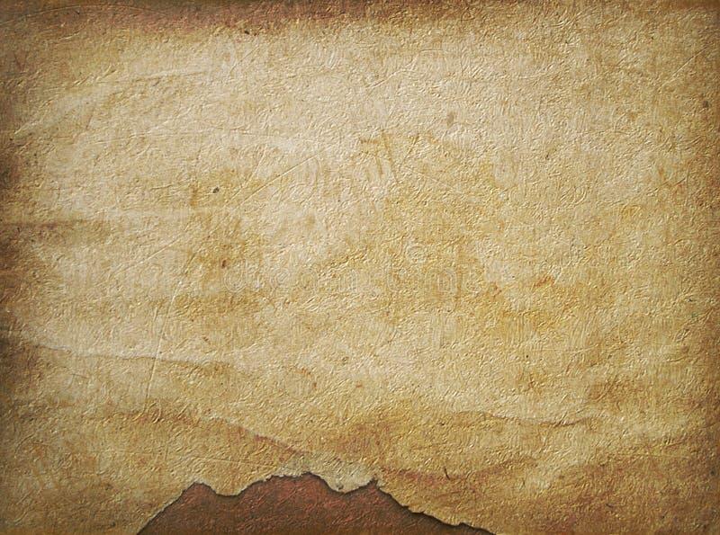 Altes Papier in der grunge Art stock abbildung