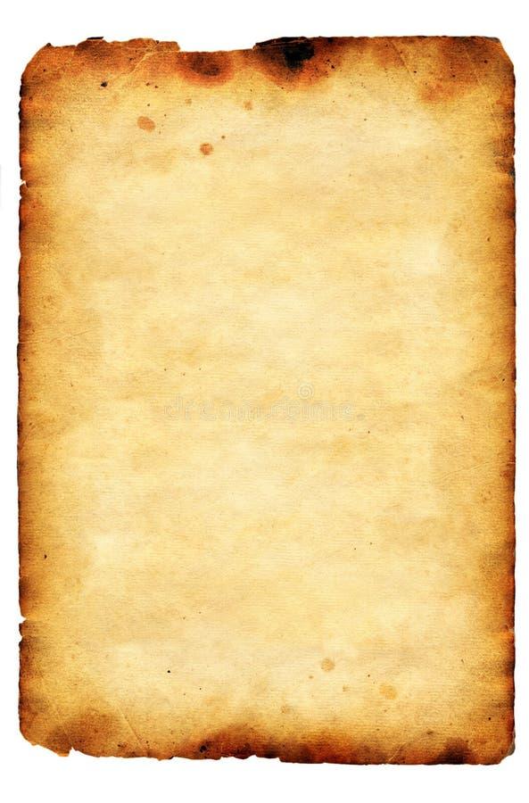 Altes Papier der Grunge Weinlese stockbild