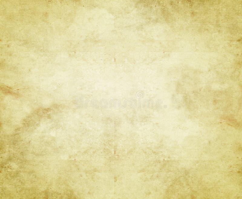 Altes Papier oder Pergament stock abbildung