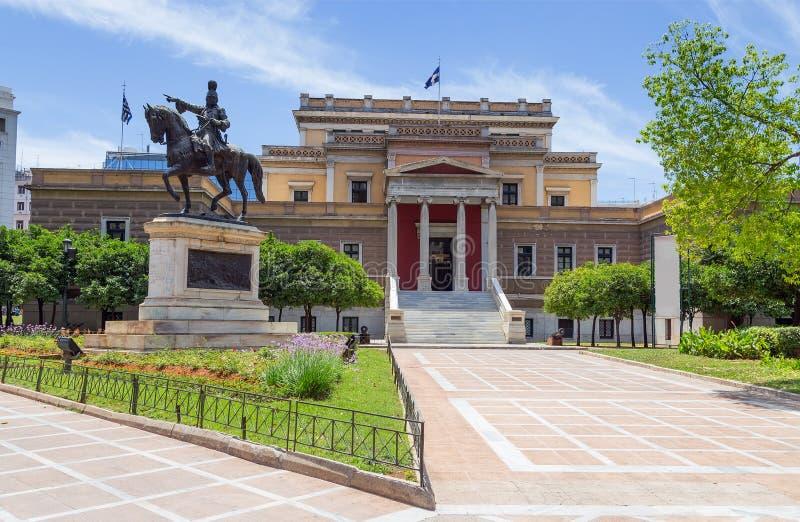 Altes Parlamentsgebäude, Athen, Griechenland lizenzfreies stockfoto