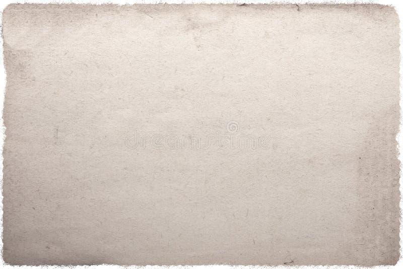 Altes altes Pergament mit abgenutztem beige Hintergrund stockbild
