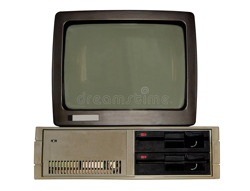 Altes Personal-Computer lizenzfreies stockbild