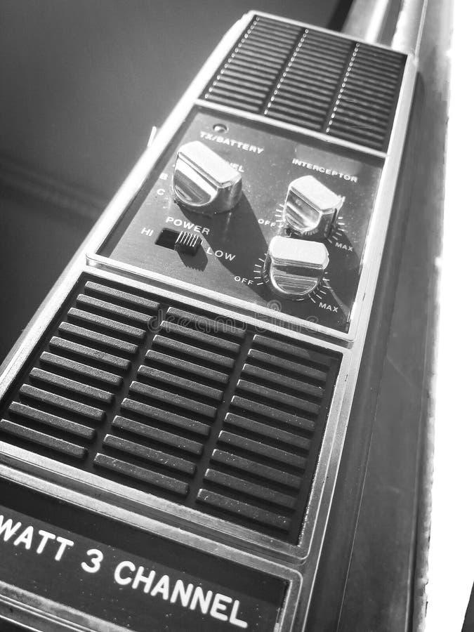 Altes portables Radio stockbilder