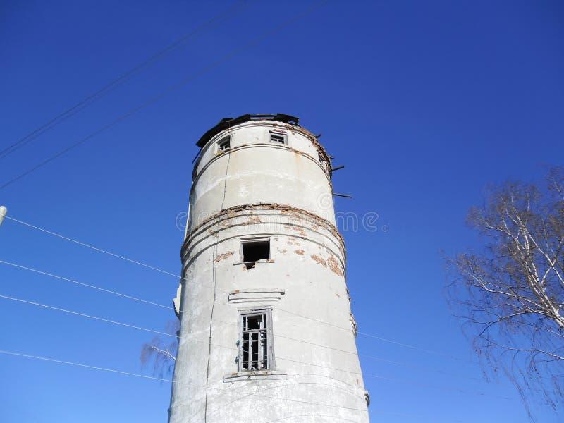 Altes Pumpenhaus lizenzfreie stockfotografie