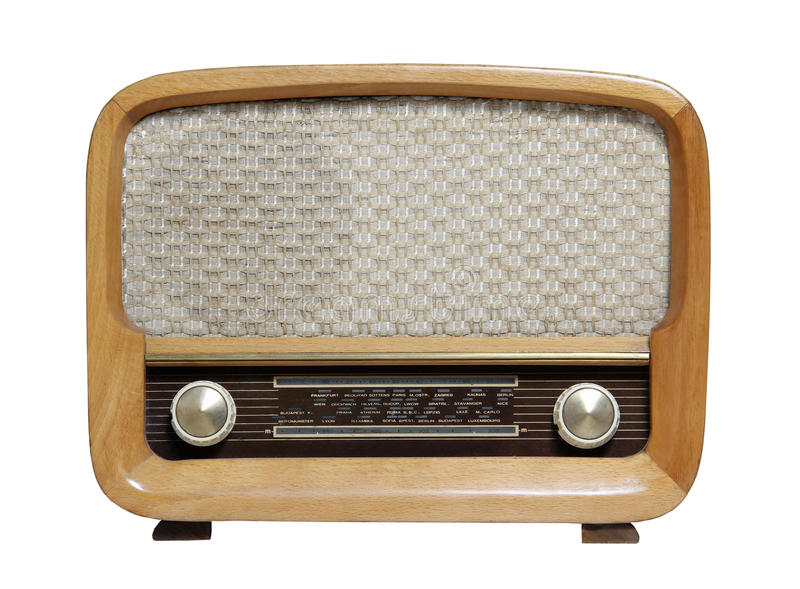 Altes radio_10 stockfoto