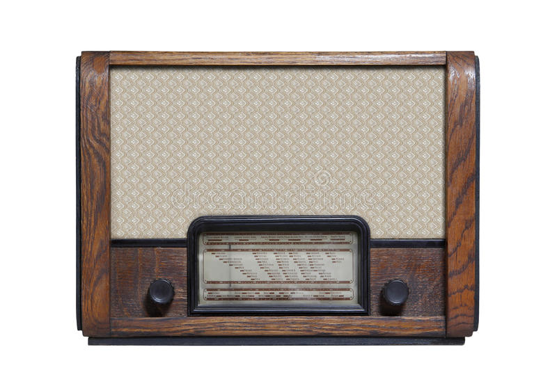 Altes radio_11 stockfoto