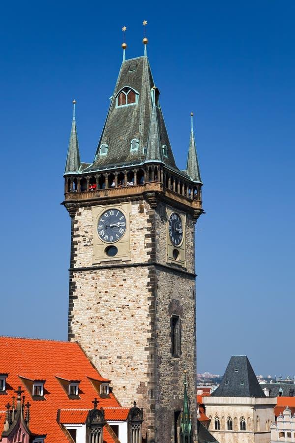 Altes Rathaus, Prag lizenzfreie stockfotos
