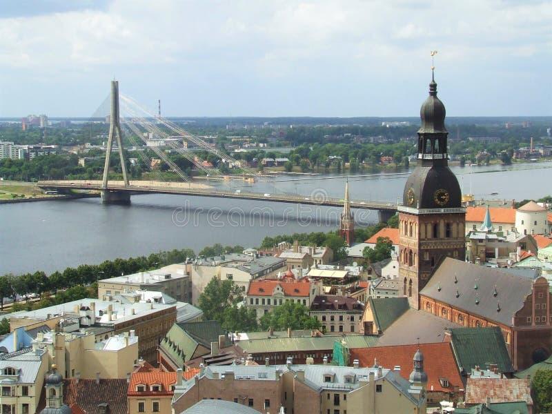 Altes Riga lizenzfreies stockfoto