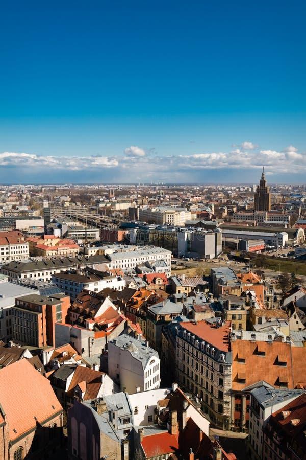 Download Altes Riga stockfoto. Bild von europa, latvian, farbe - 9098038