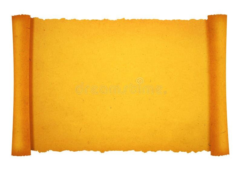Altes Rollepapier lizenzfreie stockfotos