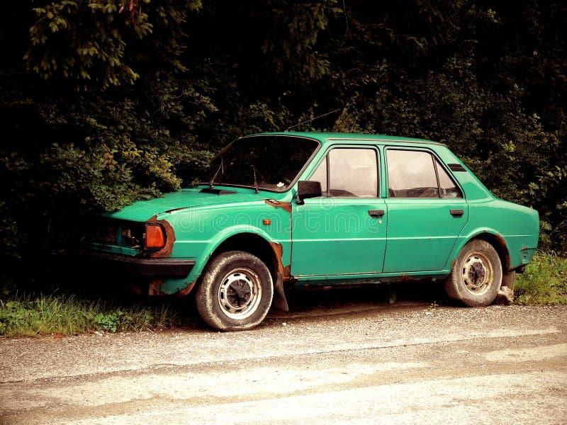 Altes Rostiges Auto Stockfoto