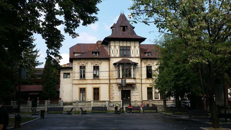 Altes rumänisches Haus lizenzfreie stockfotos