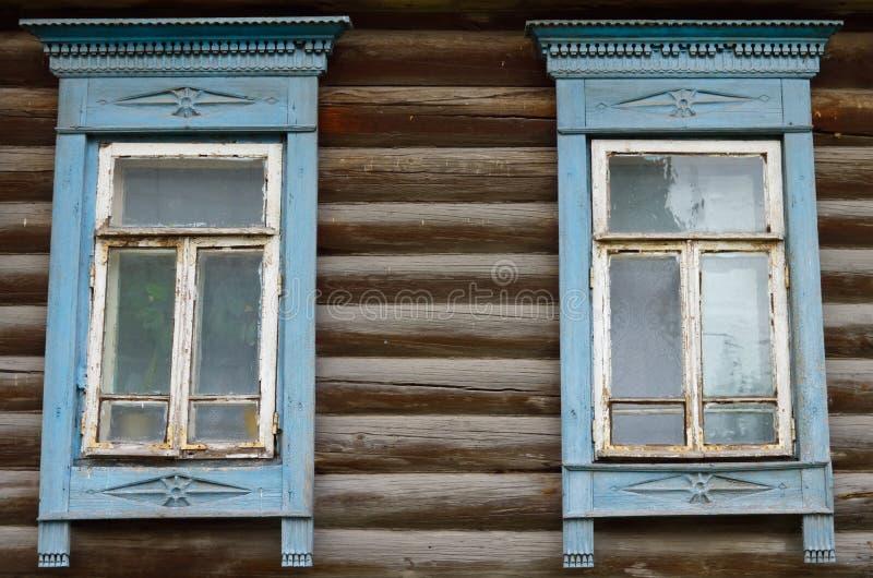 Altes russisches izba 1 lizenzfreie stockfotos