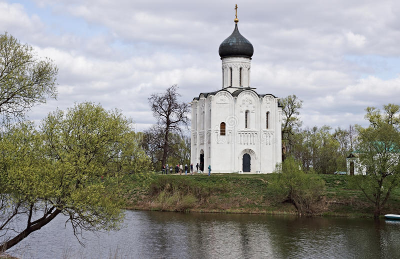 Altes Russland wird in den alten Monumenten gezeigt stockfoto