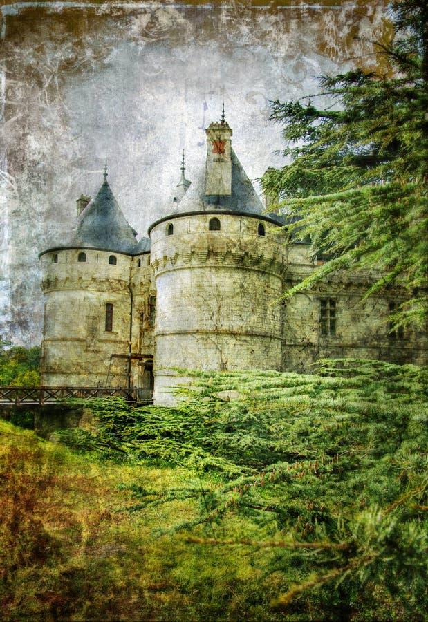 Altes Schloss stock abbildung