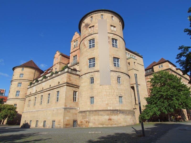 Altes Schloss (altes Schloss) Stuttgart stockfoto