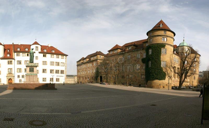 Altes Schloss Stuttgart lizenzfreie stockbilder