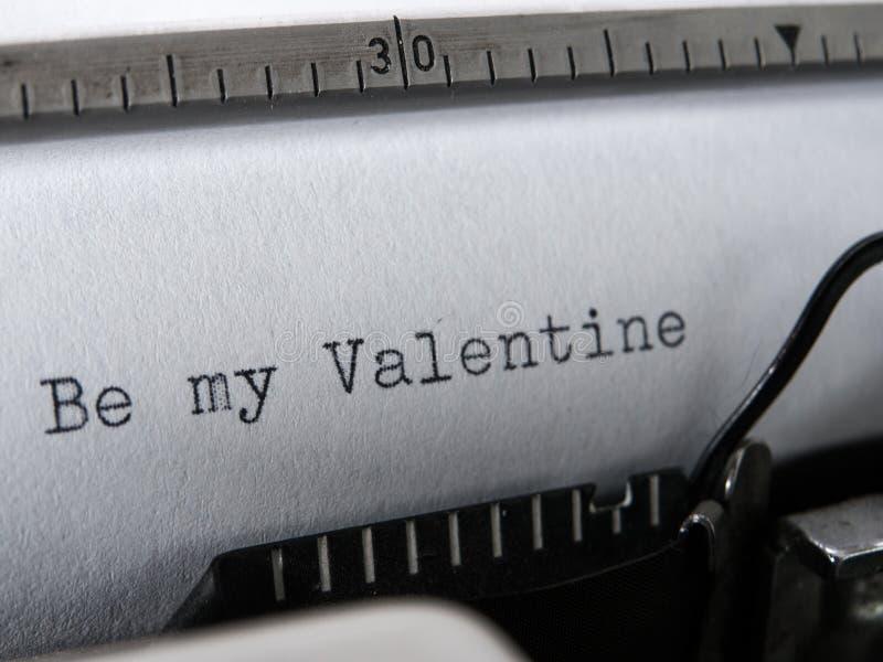 Altes Schreibmaschinenschreiben stockbild