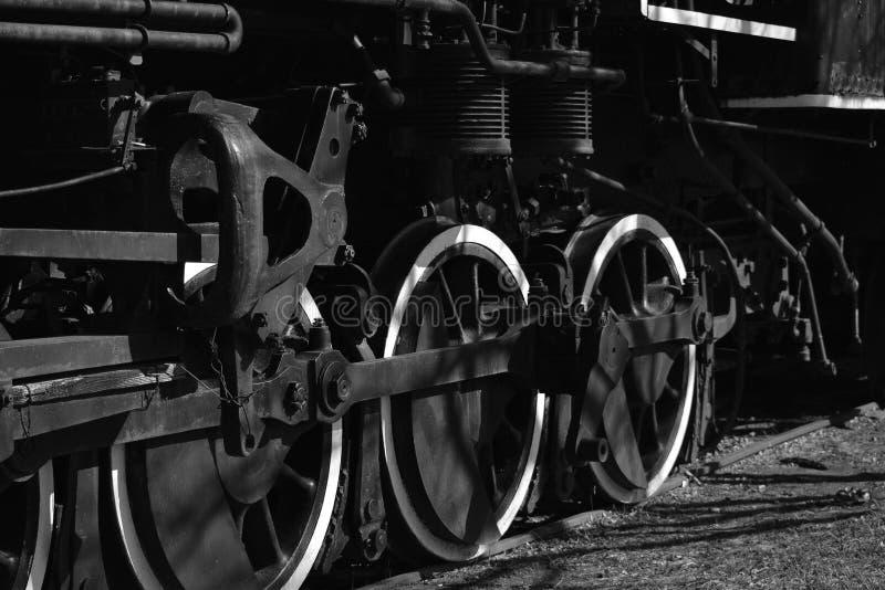 Altes Serien-Rad stockfotos