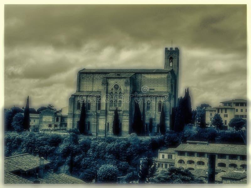 Altes Siena stockbild