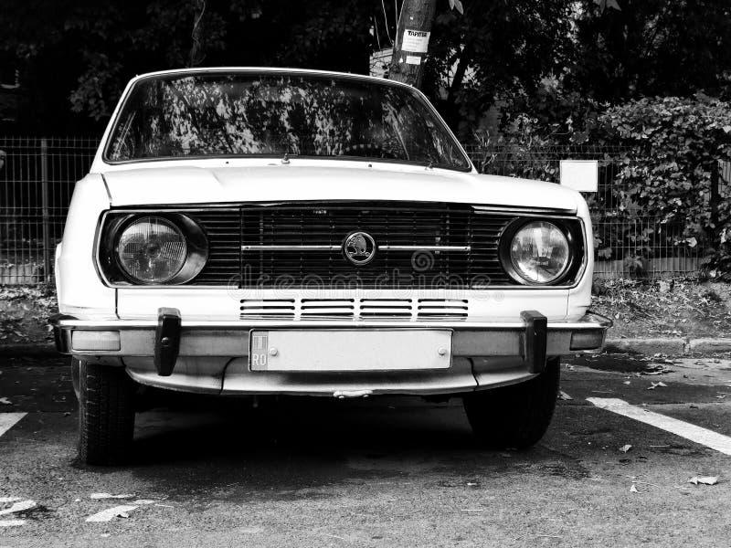 Altes Skoda-Auto lizenzfreies stockfoto