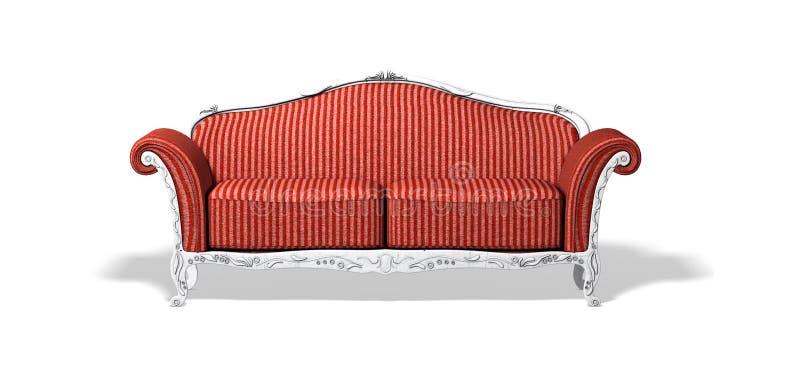 altes sofa stock abbildung illustration von abbildung 13014167. Black Bedroom Furniture Sets. Home Design Ideas