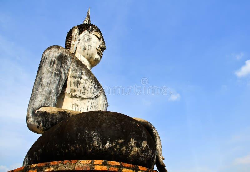Altes Stadtland Thailand Sukhotai-Ruine stockfotos