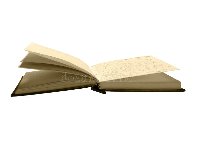 Altes Tagebuch lizenzfreie stockfotografie