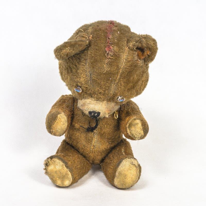 Altes Teddybärspielzeug stockbilder