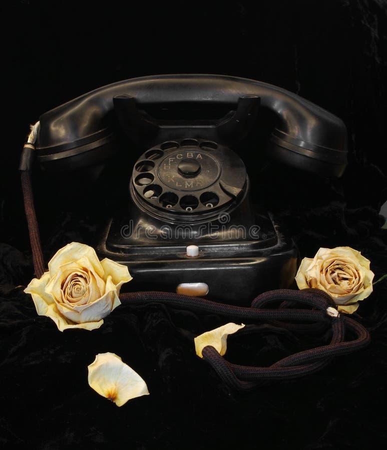 Altes Telefon lizenzfreie stockfotos