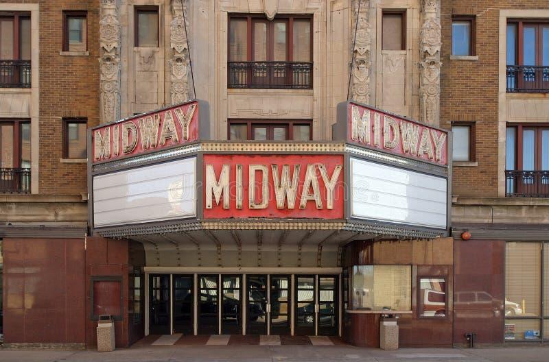 Altes Theater stockfoto